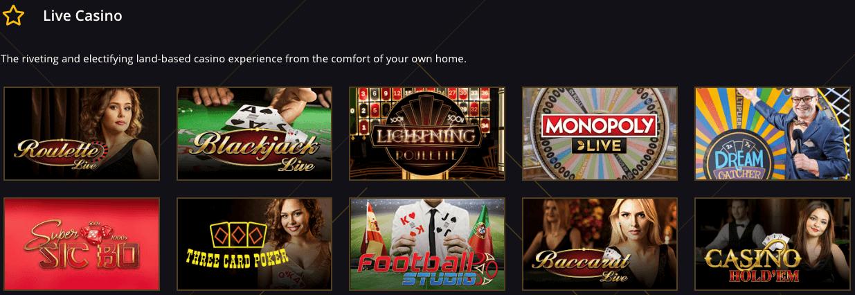 21 Casino Live video