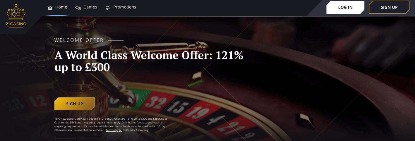 21 casino Home