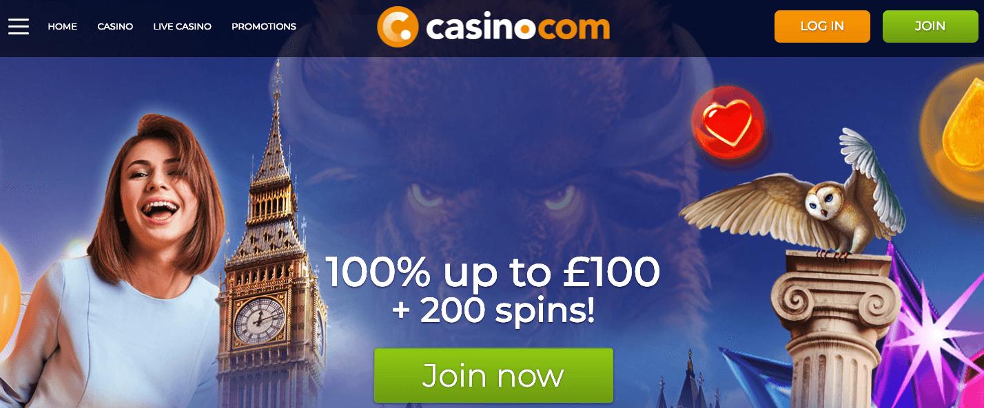 Casino.com home