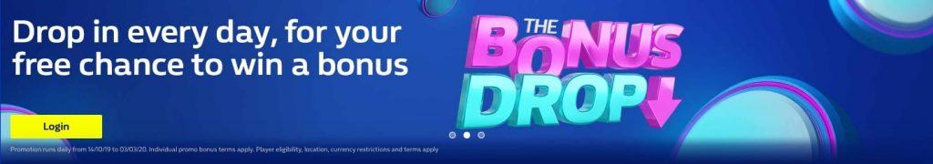 William Hill Bonus Drop