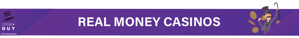 real money casinos banner