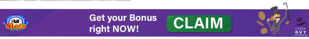 bannière bonus allslots casino