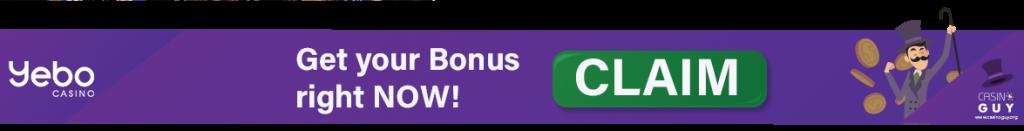 banner bonus yebo casino