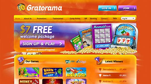 gratorama casino online