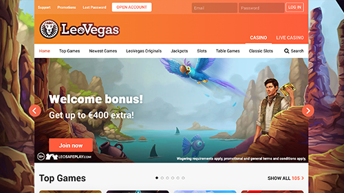 leovegas casino join