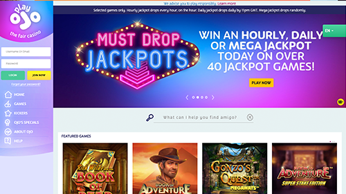 playojo casino join