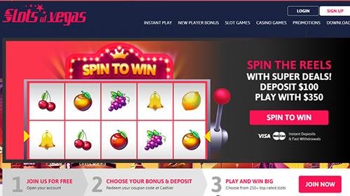 slots of vegas casino join