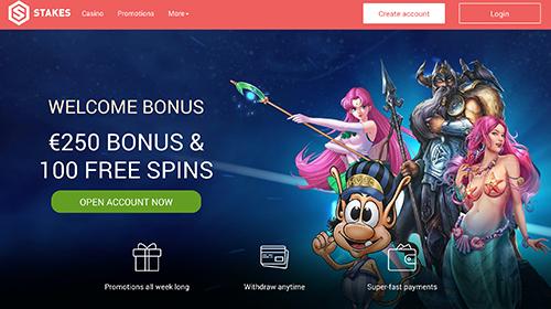 stakes casino bonus online