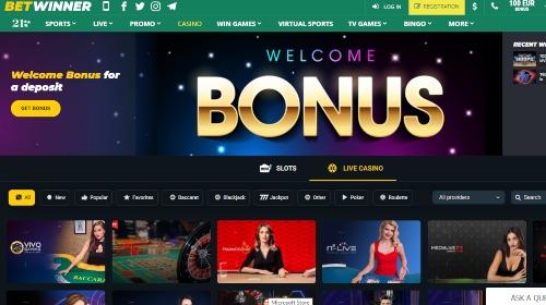 betwinner casino online
