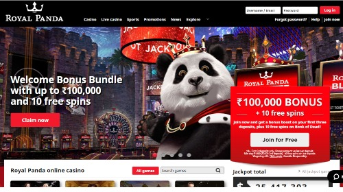 royal panda india casino online