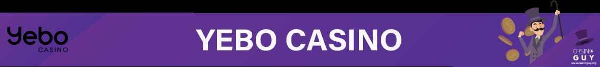 yebo casino banner