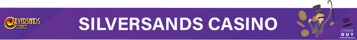 silversands casino banner