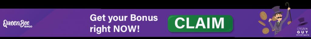 queen bee banner bonus