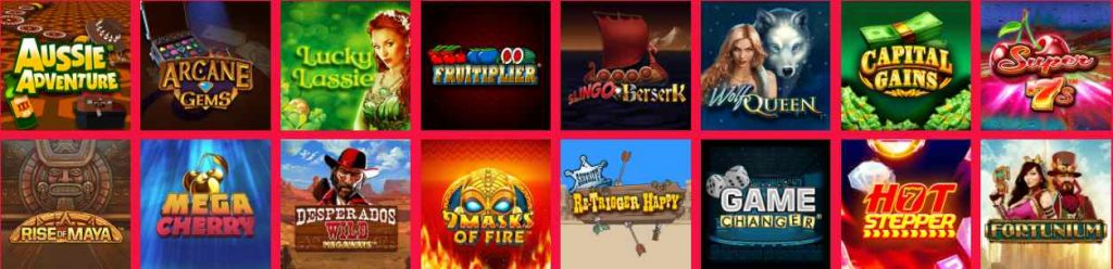 screenshot blighty bingo games