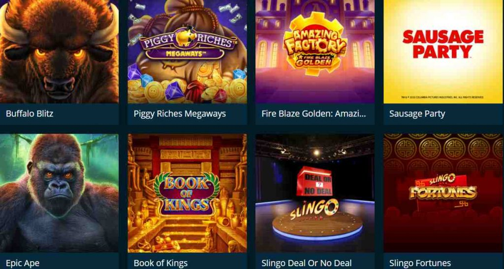 screenshot casinoland games