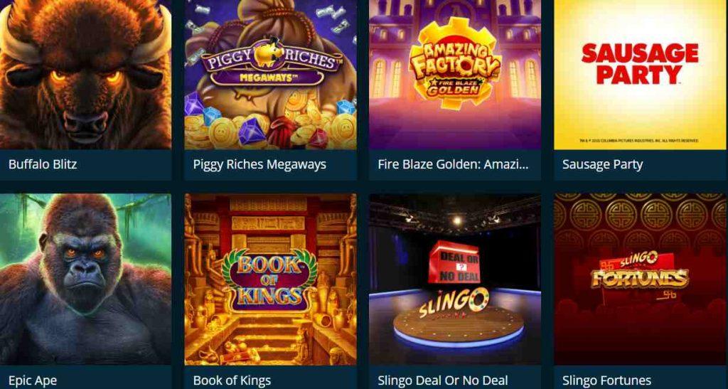 screenshot casinoland games