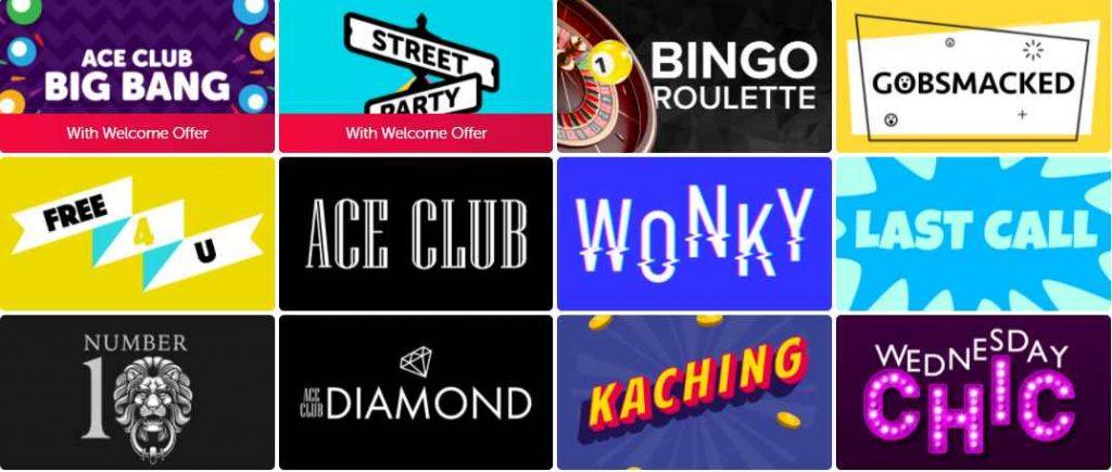 screenshot dabber bingo games