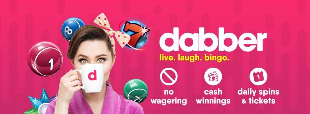 screenshot dabber bingo interface