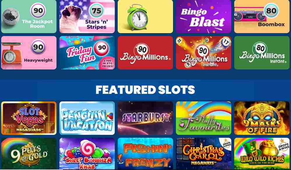 screenshot mirror bingo games
