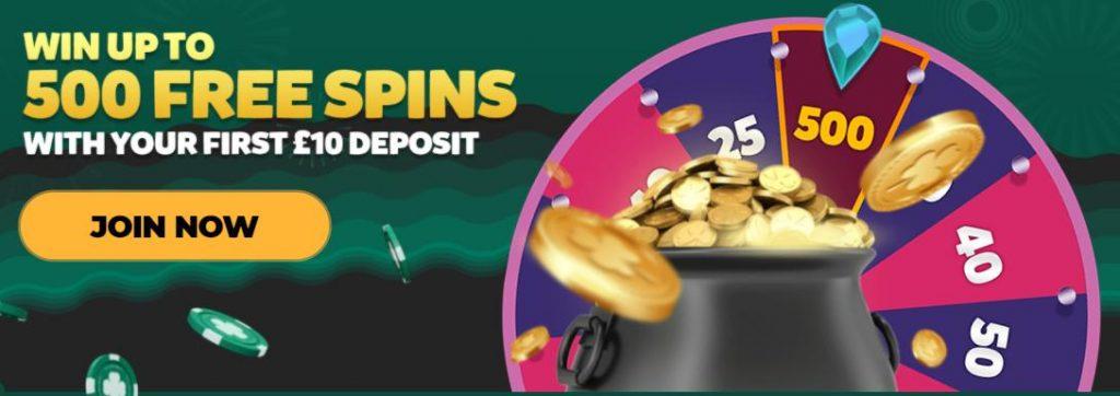 screenshot vegas luck bonus