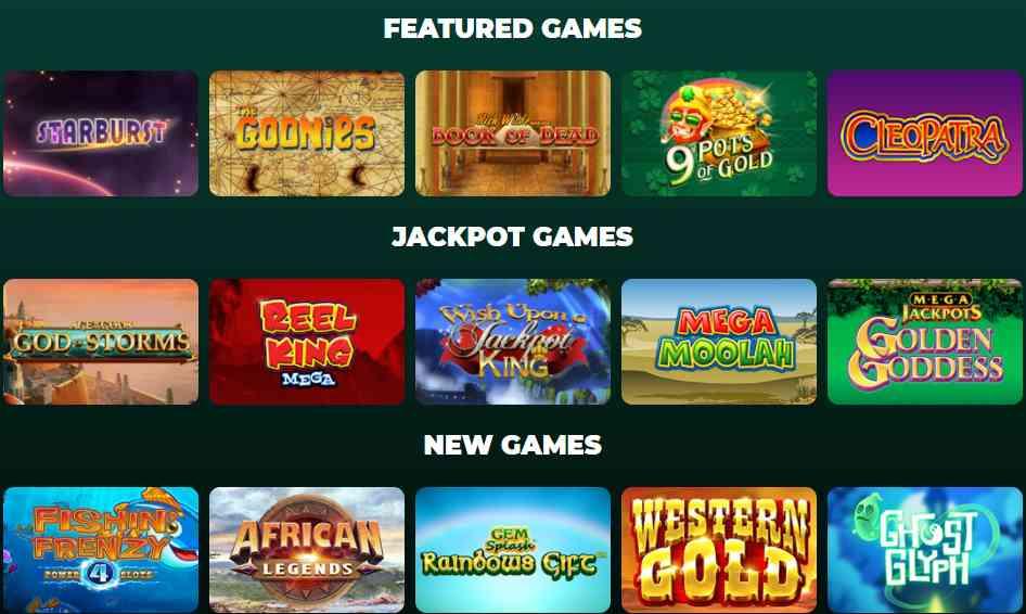 screenshot vegas luck games
