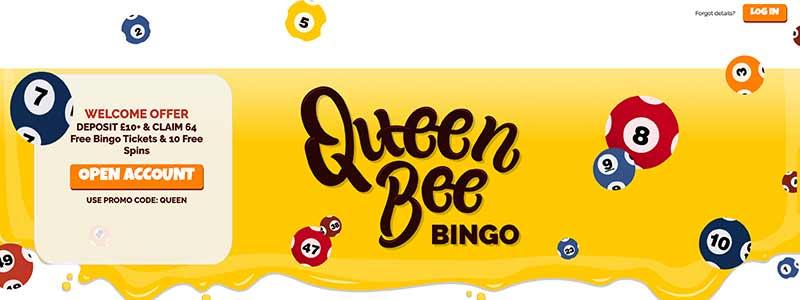 sreenshot queenbeebingo interface