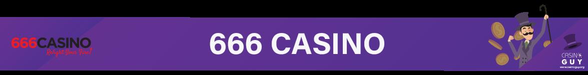 banner 666 casino