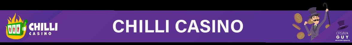 chilli casino banner