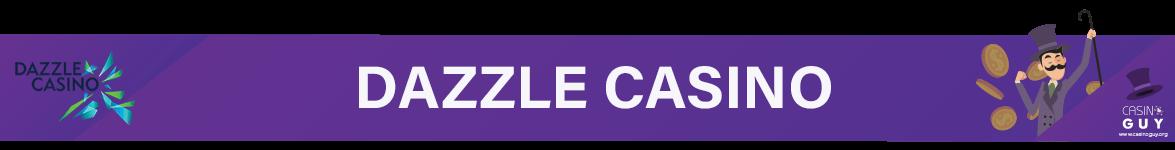 dazzle casino banner