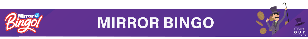 banner mirror bingo