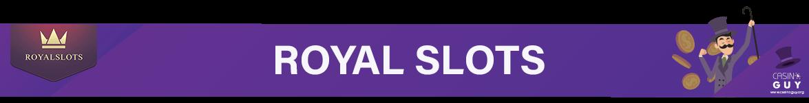 royal slots banner bingo