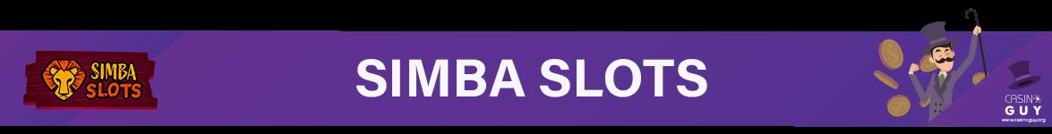 banner simba slots
