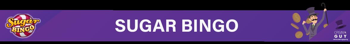 sugar bingo banner
