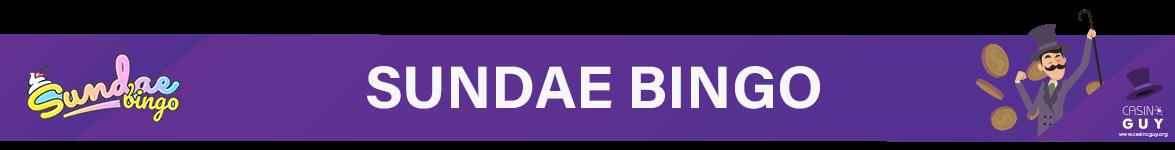 banner sundae bingo