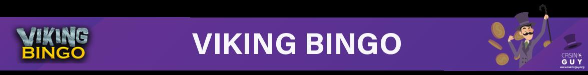 banner viking bingo