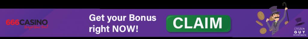 banner 666 casino bonus