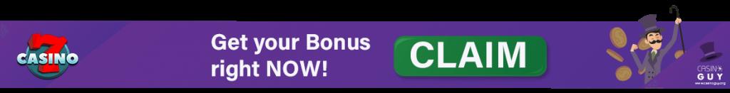 banner bonus 7casino