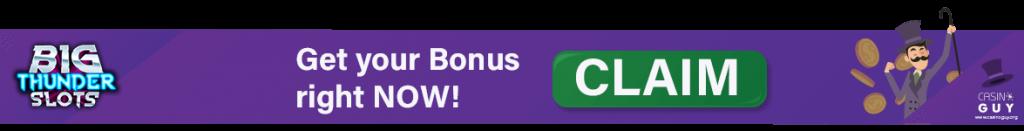 banner big thunder slots casino bonus