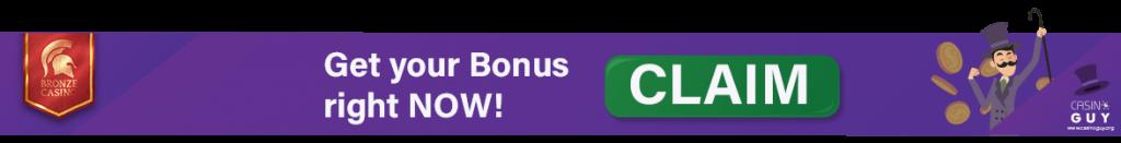 banner bonus bronze casino