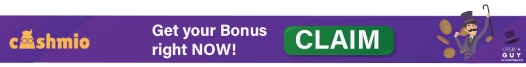 cashmio banner bonus claim