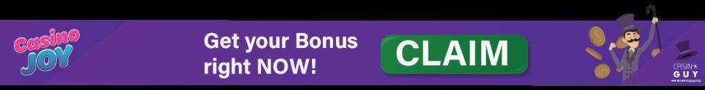 banner bonus casino joy