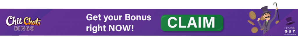 banner chitchat bingo