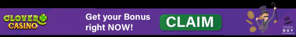 banner bonus clover casino
