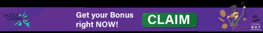 banner dazzle casino bonus