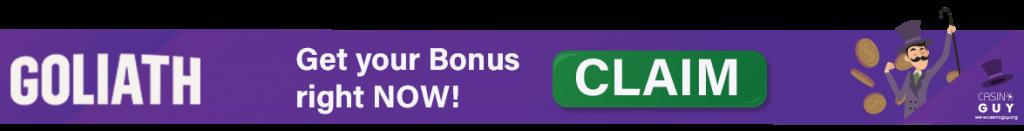 banner bonus goliath casino