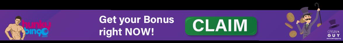 banner bonus hunky bingo