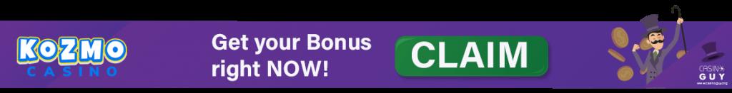 banner bonus kozmo casino