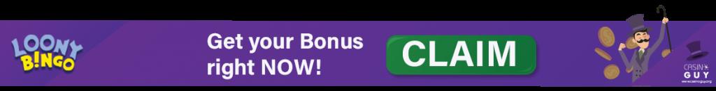 banner bonus loony bingo