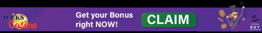 banner lucks casino bonus