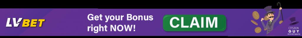 banner lvbet casino bonus